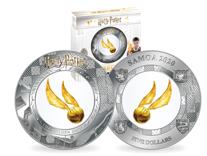 Monnaie officielle Harry Potter Vif d'Or 2020