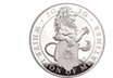 "5oz Silbermünze ""The White Lion of Mortimer"" 2020 aus Großbritannien"
