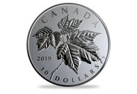 Kanada 2019 Silber-Gedenkmünze 'Maple Leaves'