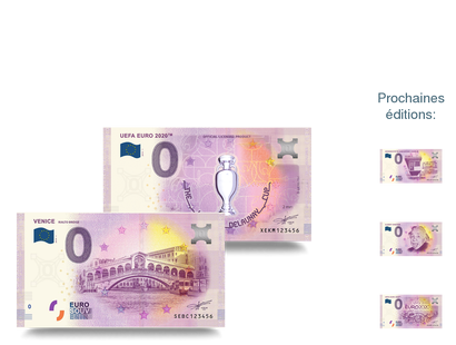 Collection Billets 0€ souvenir