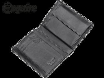 Hochformatbörse   Esquire   LOGO   schwarz
