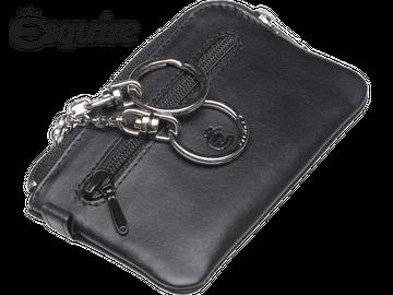 Schlüsseletui | Esquire | Logo | schwarz