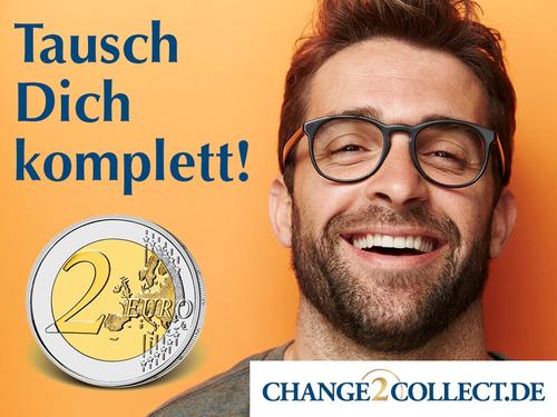 Kostenlose Tauschbörse für 2-Euro-Münzen