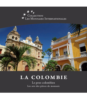 Les monnaies internationales, set complet Peso : Colombie