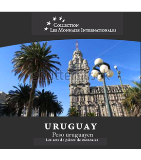 Les monnaies internationales, set complet Peso : Uruguay