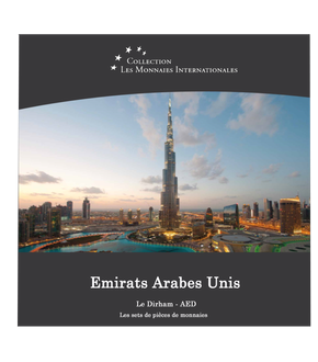 Les monnaies internationales, set complet Dirham : Emirats Arabes Unis