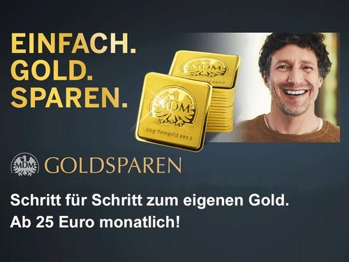 MDM Goldsparplan