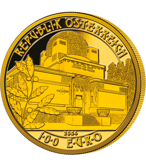 100-Euro-Goldmünze 2004 ''Architektur''