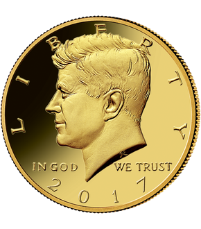 Monnaie Half Dollar «Kennedy» USA 2017