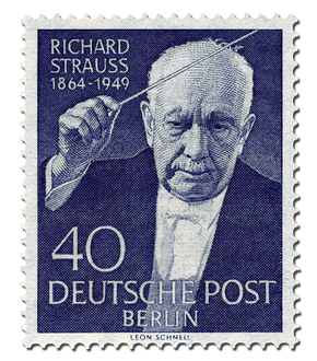 Briefmarke Berlin 5. Todestag Richard Strauss, postfrisch