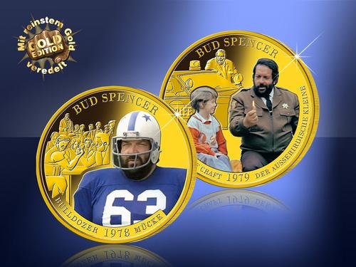 """2 Ausgaben zum Preis von 1 – Start in die offizielle GOLD-Edition """"90 Jahre Bud Spencer""""!"""