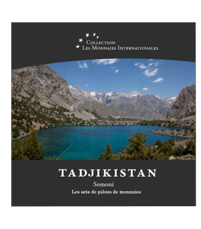 Les monnaies internationales, set complet Somoni : Tadjikistan