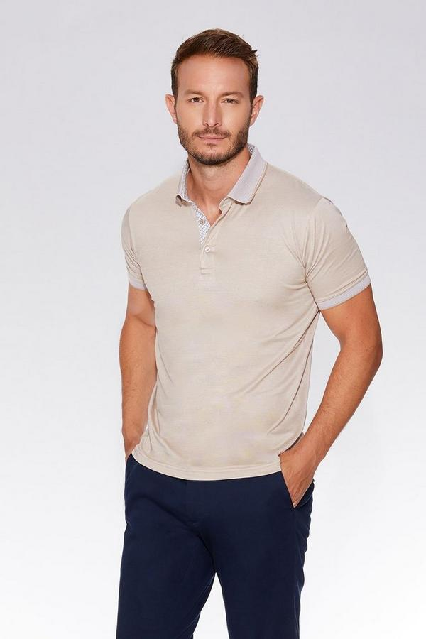 Stone Slim Fit Polo Shirt