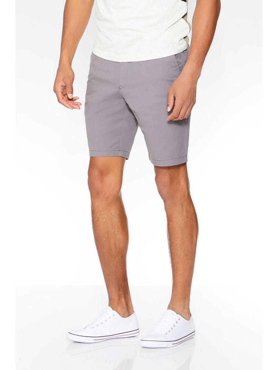 Grey Stretch Shorts
