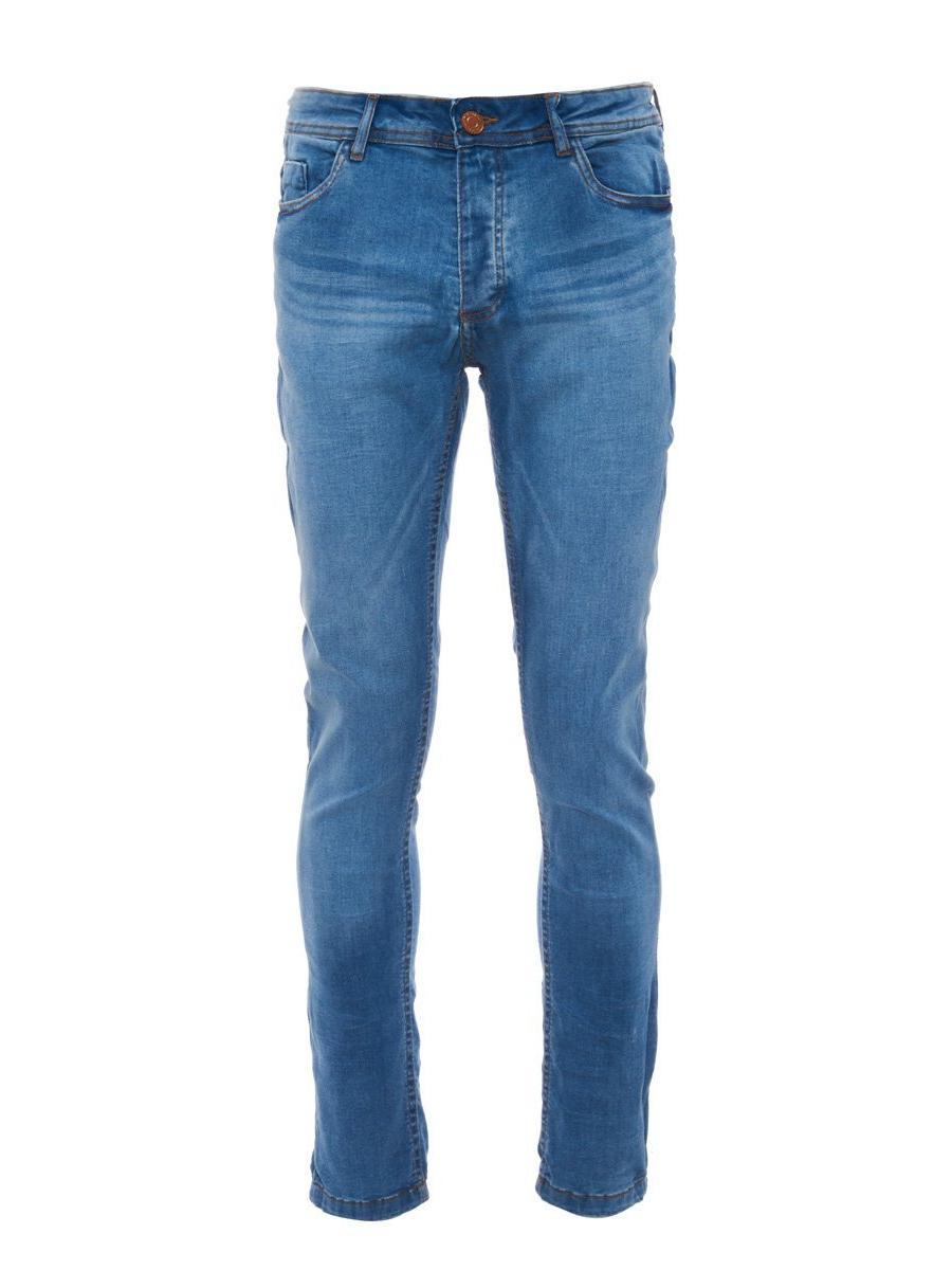 Light Blue Stretch Denim Jeans