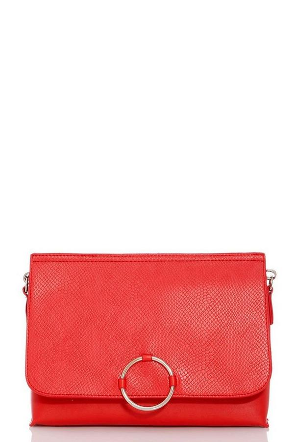 Red Ring Detail Bag