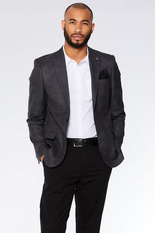 Grey Check Blazer