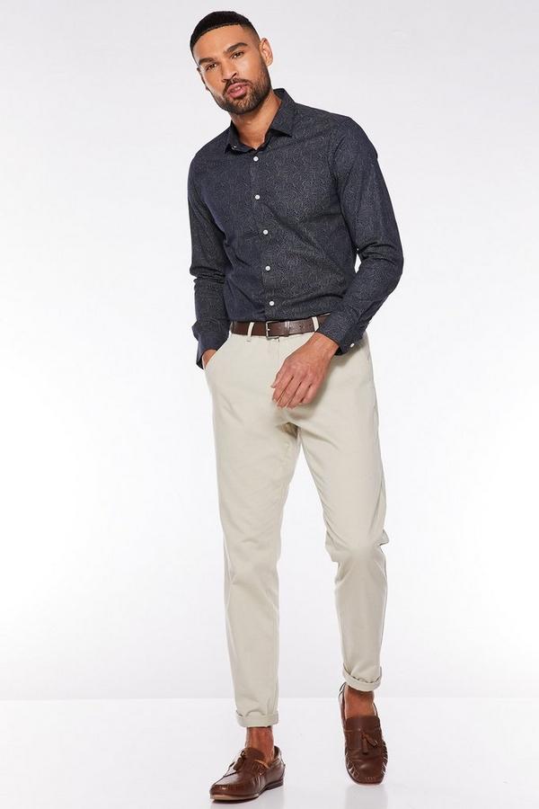Stone Slim Fit Chino Trouser