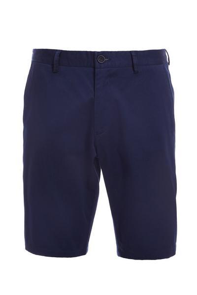 Petrol Blue Slim Fit Chino Short