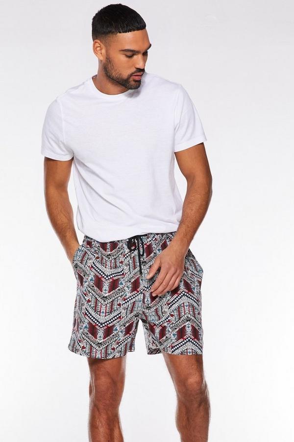 Aztec Printed Shorts