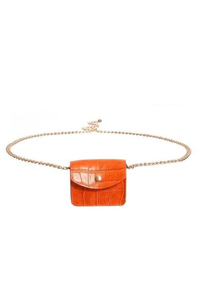 Orange Mini Belt Bag