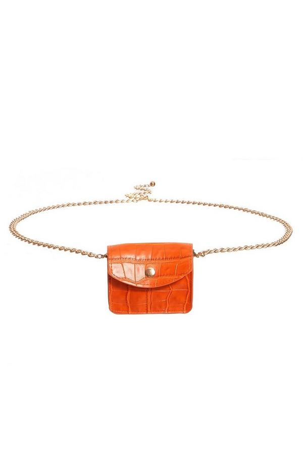 Orange Mini Belt Bag