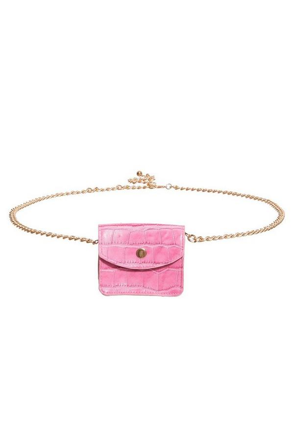 Pink Mini Belt Bag