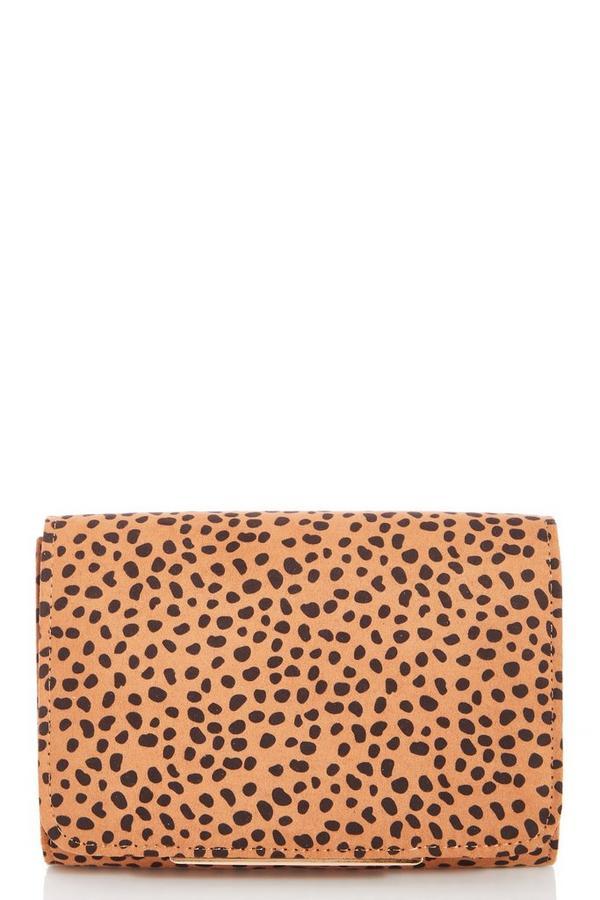 Brown Dalmatian Print Bag