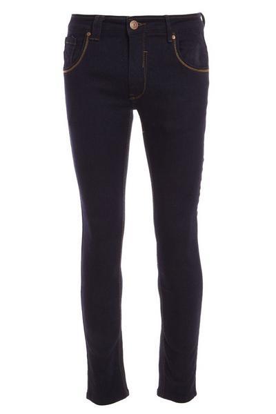 Skinny Straight Leg Indigo Wash Jean