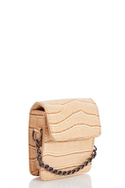 Nude Mini Chain Bag