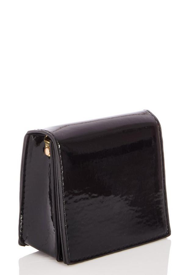 Black Patent Mini Bag