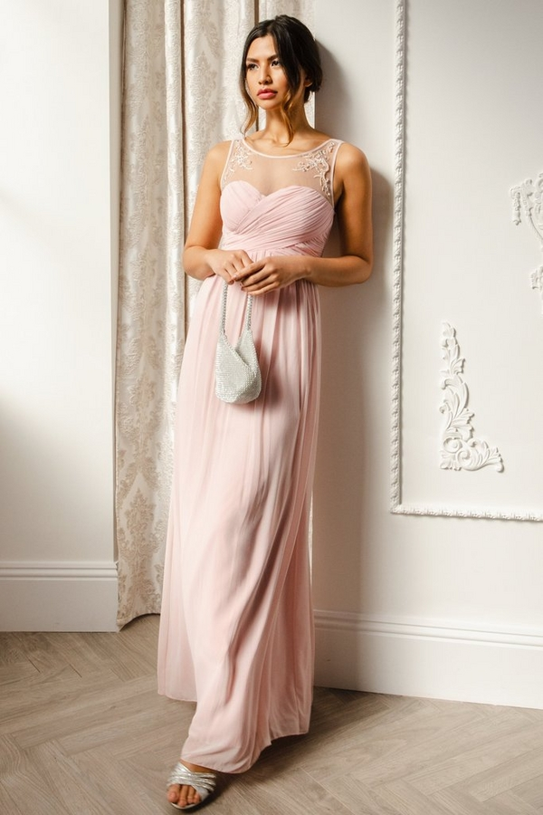 Pink Sweetheart Maxi Dress