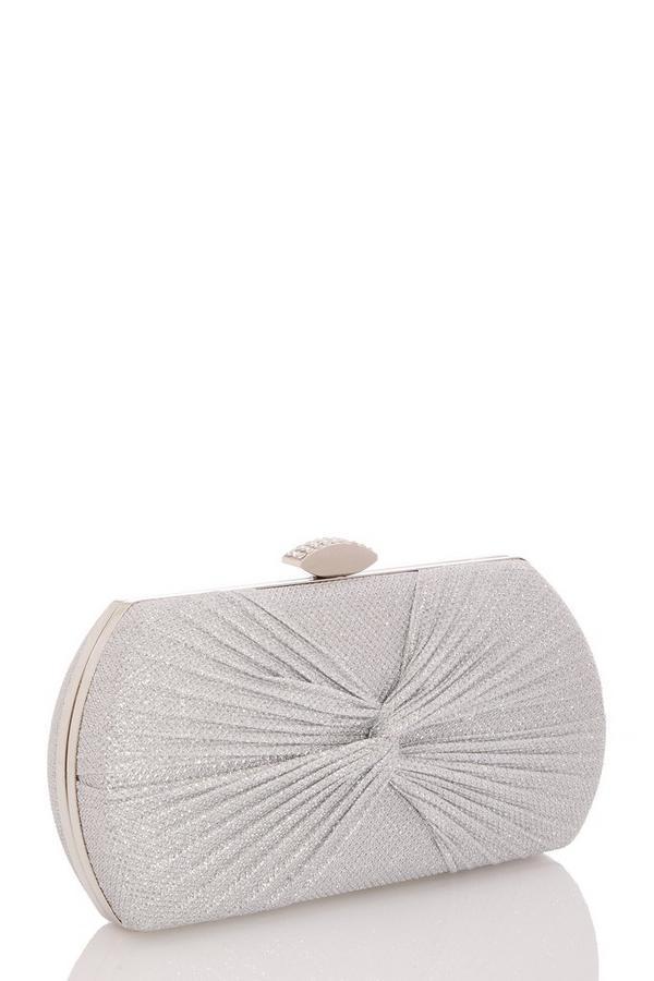 Silver Shimmer Box Bag