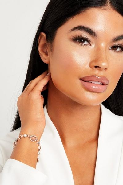 Rose Gold Jewel Bracelet