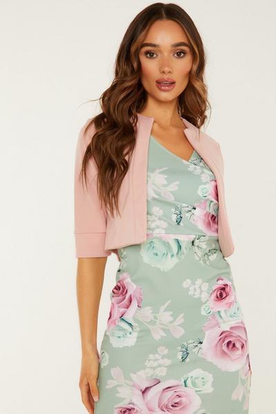 Pink Crop Jacket