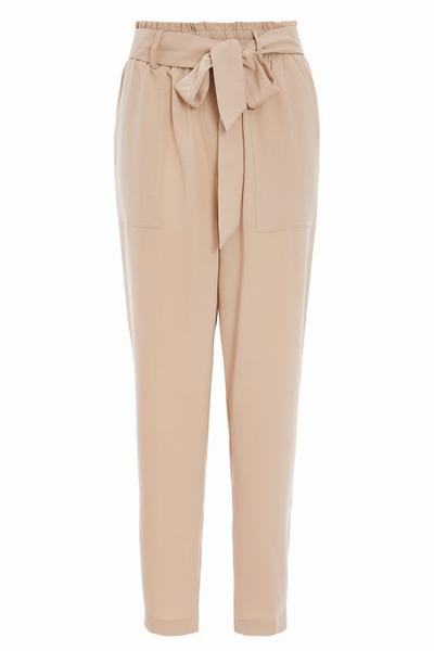 Stone Paper Bag Trousers