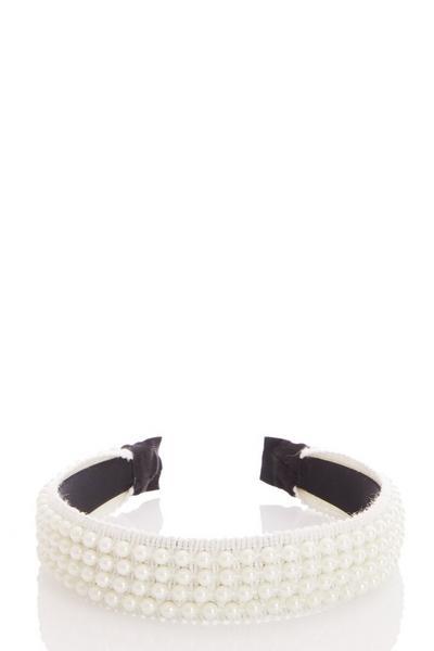 White Pearl Headband