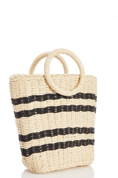 Straw Stripe Bag