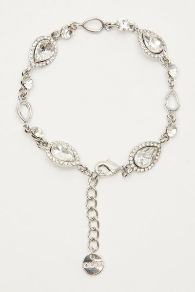 Silver Jewel Bracelet