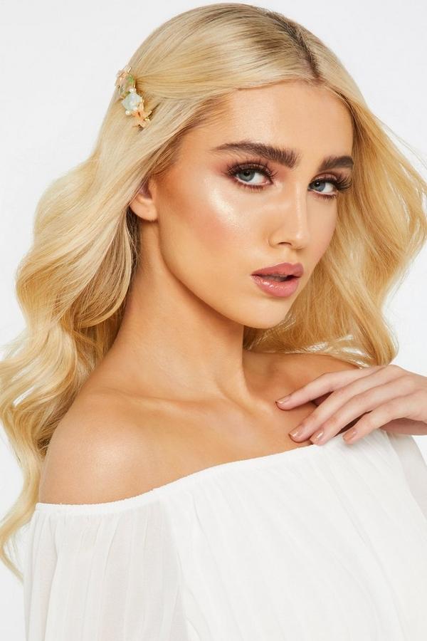 Gold Shell Hair Clip