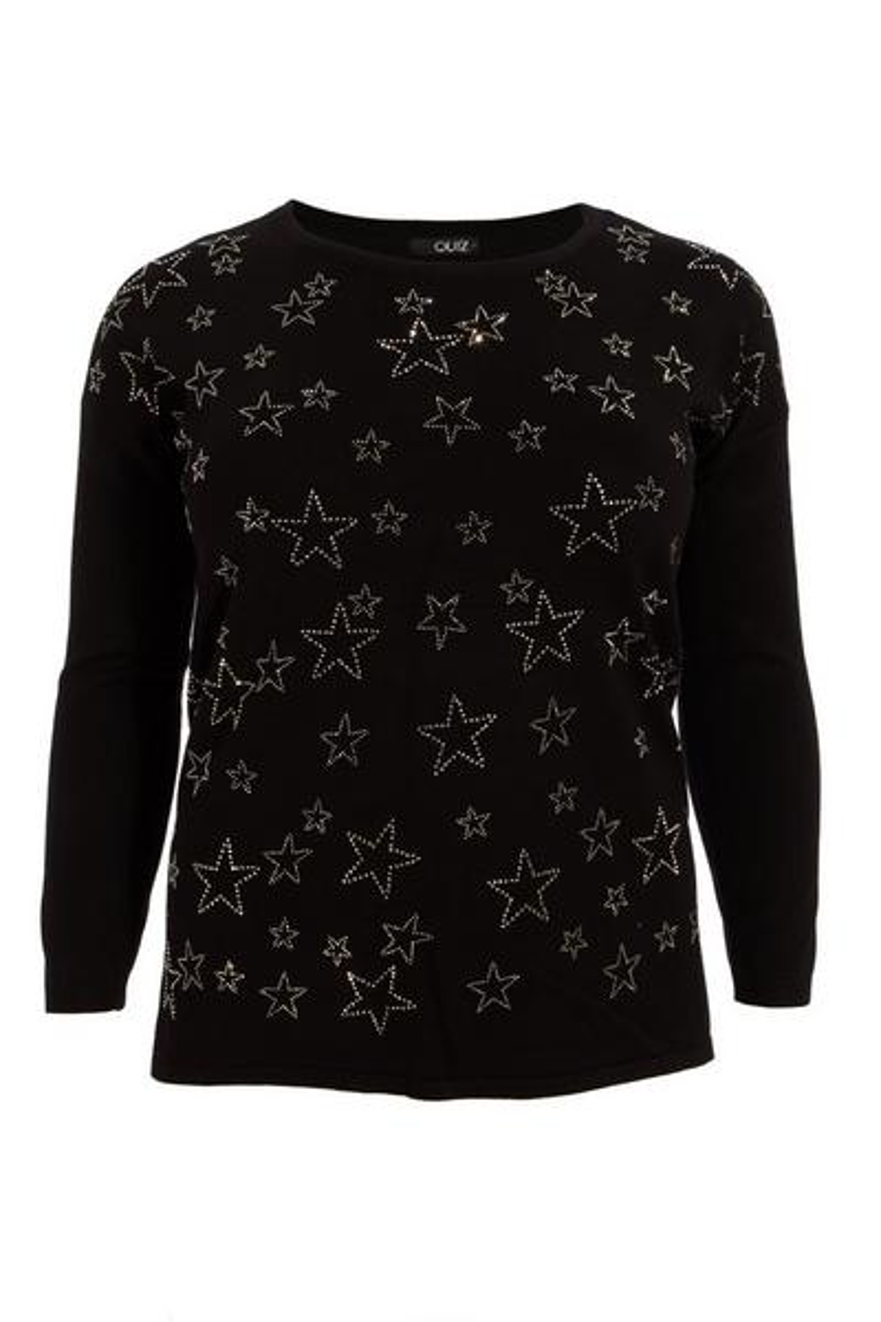 Black Star Embellished Jumper