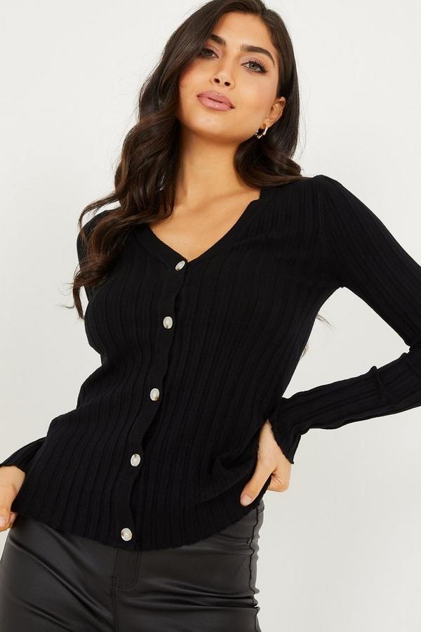 Black Light Knit Cardigan