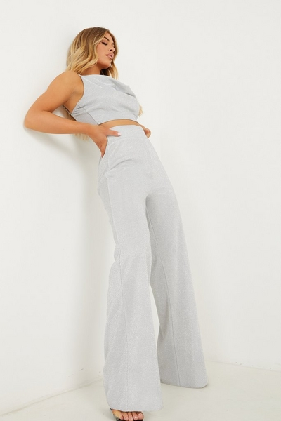 Shimmer Palazzo Trousers