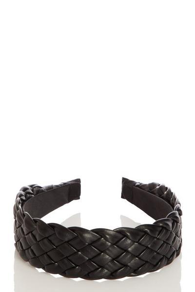 Black Quilted Handband