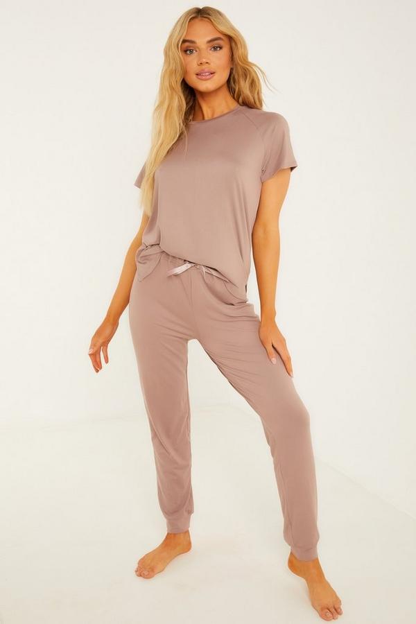 Pink Long Pyjama Set