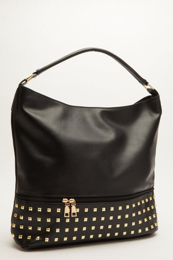 Black Stud Bag