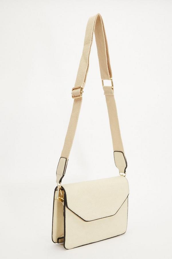 Beige Cross Body Bag