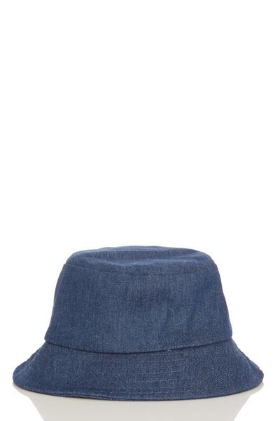 Blue Denim Bucket Hat