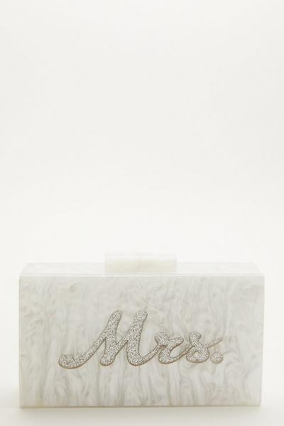 Bridal White Box Bag