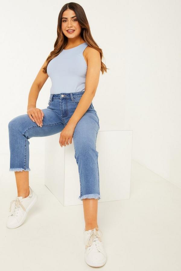 Petite Blue Denim Stretch Jeans